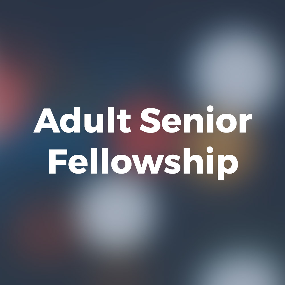 Adult Senior Fellowship