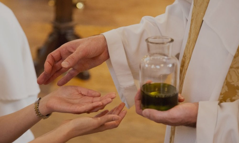 Anointing of the Sick Sacrament