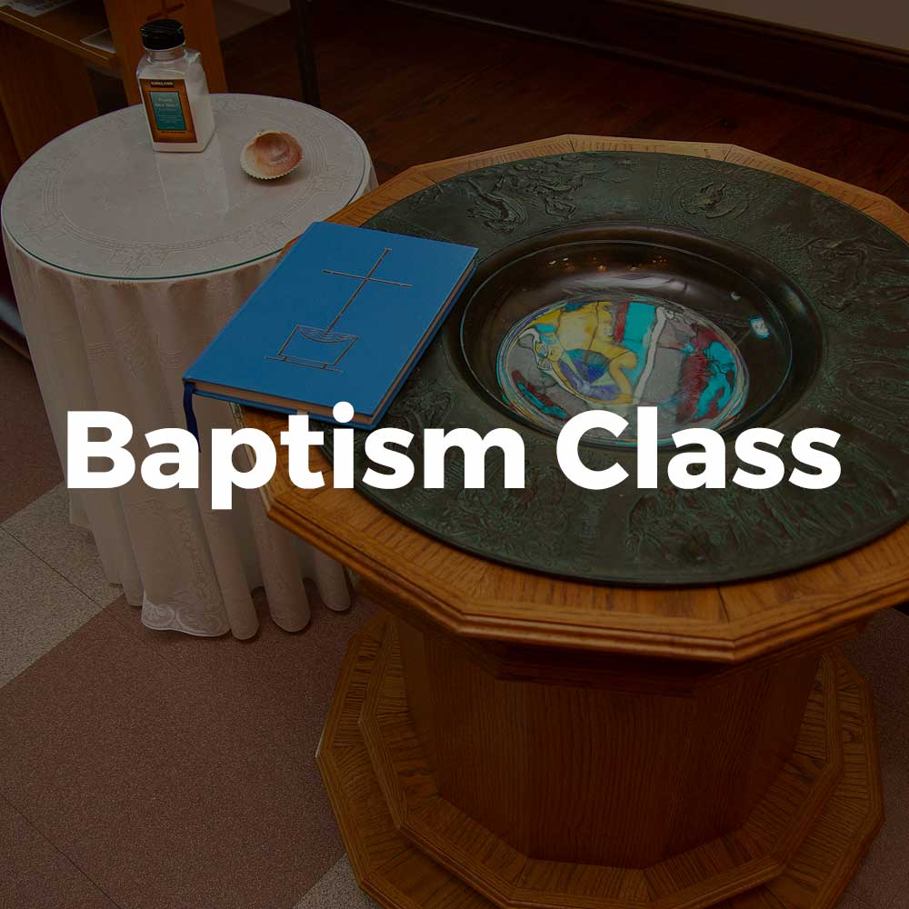 Baptism Class at All Saints Catholic Church