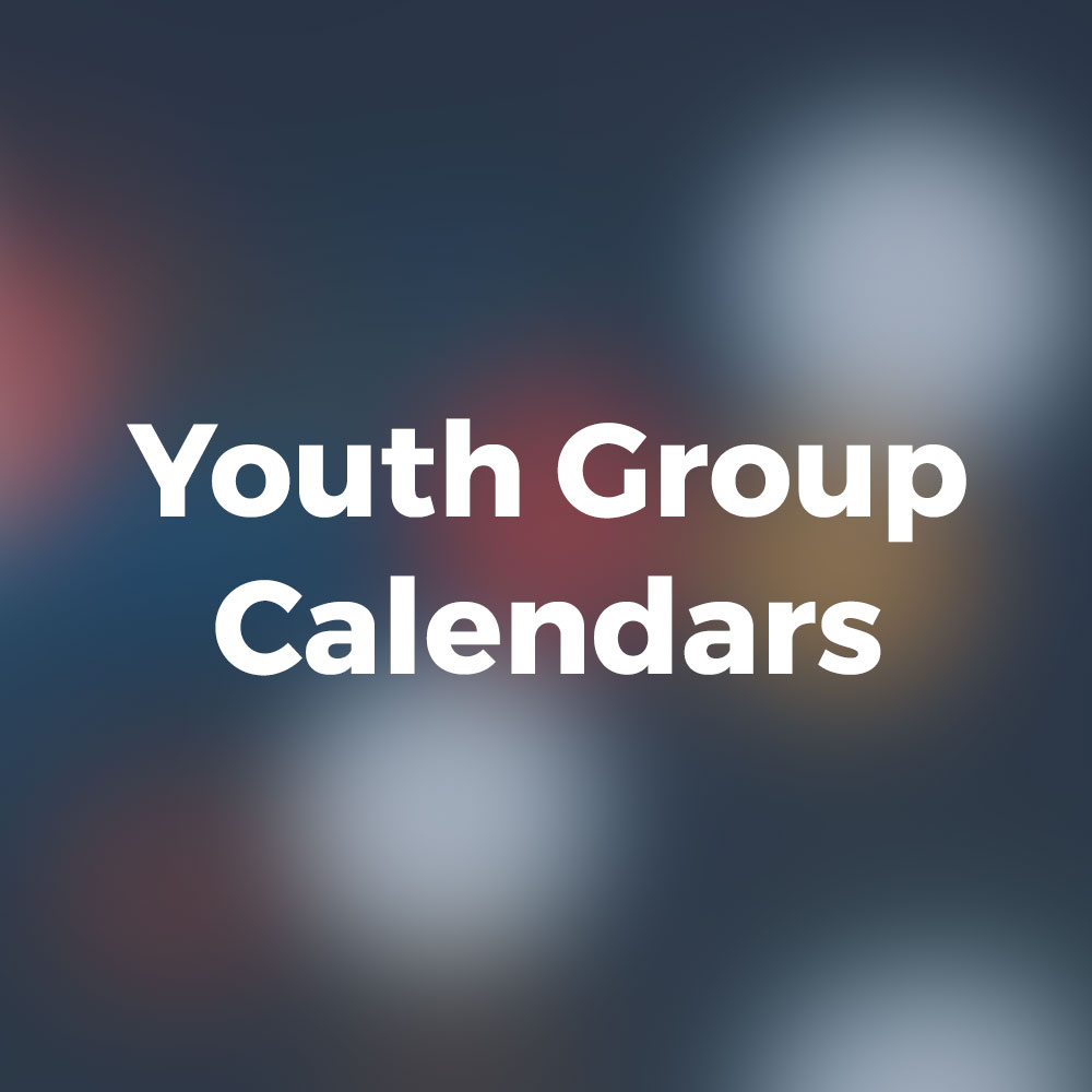 All Saints Catholic Church Youth Group Calendars