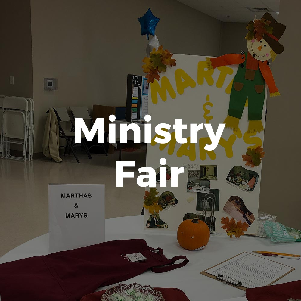 Ministry Fair Event