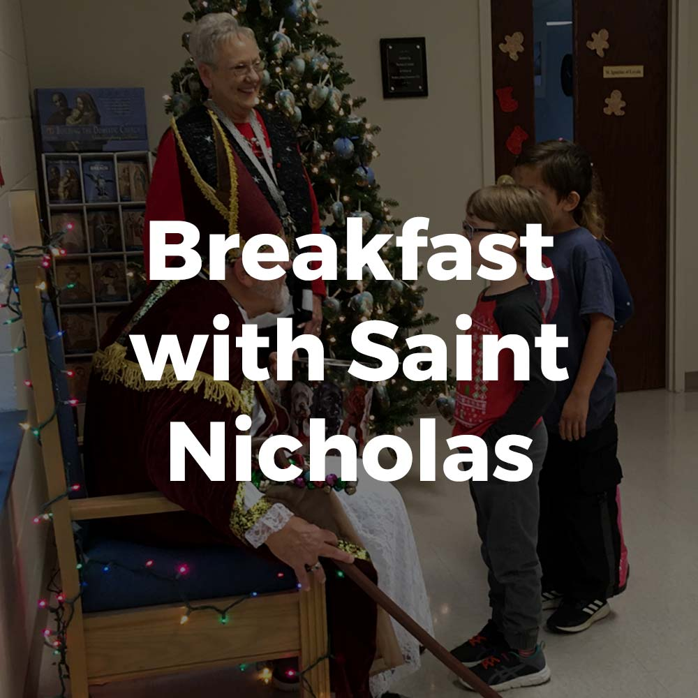 Breakfast with Saint Nicholas Event